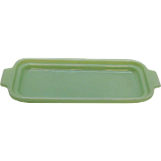 Vintage Anchor Hocking Fire King Jade-ite Butter Dish Bottom 1940-50s Excellent Condition