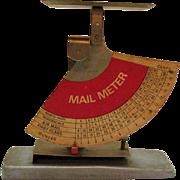 Vintage Post Office Meter Scale Pendulum Type Scale 1963-68 Works