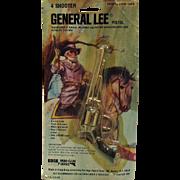 Vintage General Lee Toy Cap Pistol Still in Original Package 1980 Very Good Condition