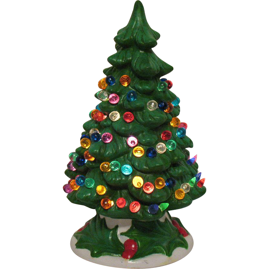 Vintage Ceramic Christmas Tree For Sale