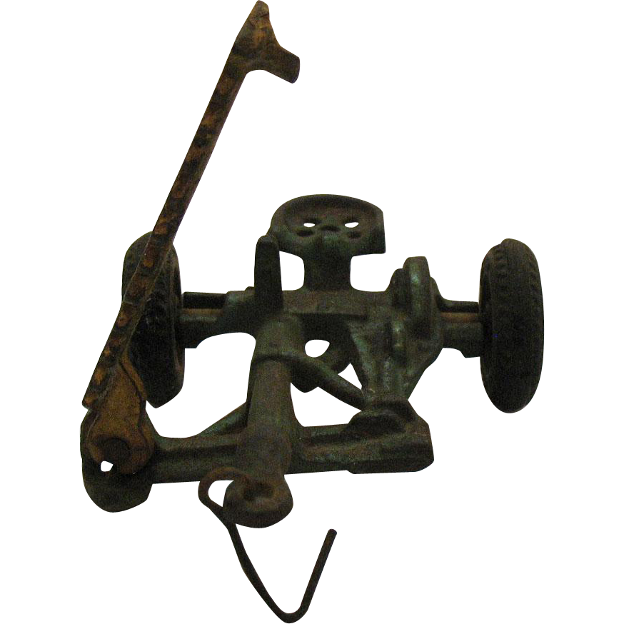 Vintage Arcade Cast Iron Sickle Mower Farm Implement Toy 1920-30s  Vintage Condition