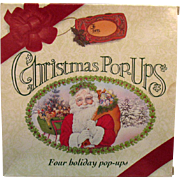Vintage Christmas Pop-Up books Four Book Set 1993 Like New Condition