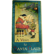 Vintage Antique Book a Visit to Santa Claus 1919 Illustrated by Margaret Evans Price Fair Vintage Condition