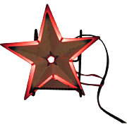Vintage Metal Star by Noma 1930-40s Good Condition