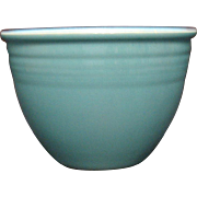 Vintage Homer Laughlin #3 Fiesta Turquoise Mixing Bowl 1937-69 Good Vintage Condition
