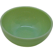 Vintage Anchor Hocking Fire King Jade-ite Chili bowl 1948-67 Good Condition