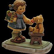 Vintage Porcelain Figurine Berta Hummel Figurine #66 with Love Good Condition