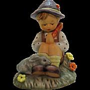 Vintage Porcelain Figurine by Berta Hummel #55 Nature's Prayer Very Good Condition