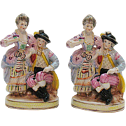 Vintage Ceramic Figurines 1950s Made in Japan Good Condition