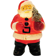 Vintage Light Up  Hard Plastic 1949-55 Santa with Tree by Miller