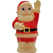 Vintage Soft Rubber Santa by Sanitoy Inc 1960s Good Condition