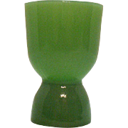 Vintage Anchor Hocking Fire King Jadeite Egg Cup 1940-60s Good Condition