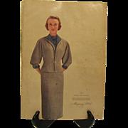 Vintage Montgomery Ward Spring & Summer Catalogue 1954 Good Condition