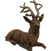 Vintage German Lead Reindeer 1920-30s