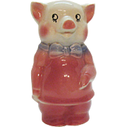 Vintage Royal Copley Pig Piggy Bank 1940-50s Good Condition