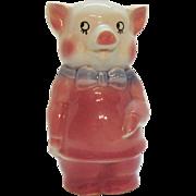 Vintage Royal Copley Pig Piggy Bank 1940-50s Good Condition