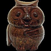 Vintage McCoy Owl Cookie Jar #204 1978-79 Good Condition