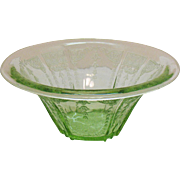 Vintage Anchor Hocking Depression glass Bowl Princess Pattern 1931-35