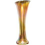 Vintage Marigold Vase Fenton 8 ¾ Inches Tall Good Condition