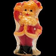 Vintage Gurley Santa Candle Original Package 1950s Excellent Condition