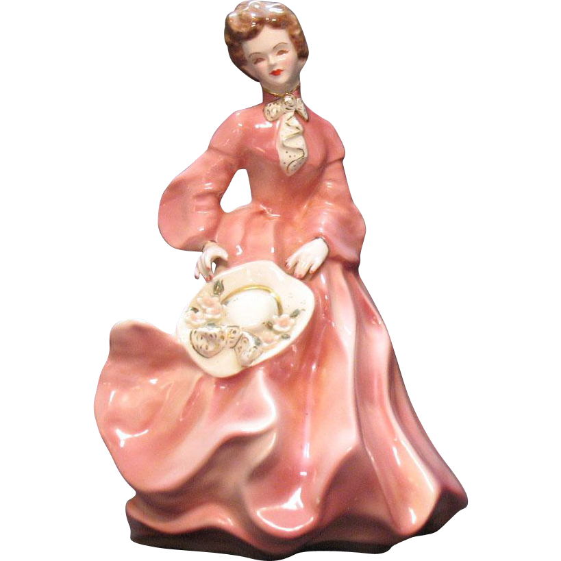 Vintage Florence Ceramics Woman Francis 1942-1964 Good Condition