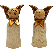 Vintage Angel S&P Shakers 1950-60s Vintage Condition