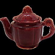 Vintage Shawnee Rosette Pattern Tea Pot 1930-41 Good Condition