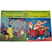 Vintage Walt Disney Magazines Disneyland & Fun to Know 50 Magazines 1970s Good to Fair Condition