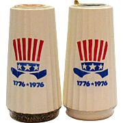 Vintage Morton Salt Bi-centennial Shakers Never Opened 1976 Good Condition