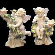 Very Rare Lefton Porcelain #952 Figurines 1946-53 Good Condition