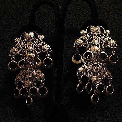 50% OFF~Unusual Vintage Dangle Shoulder Duster Earrings
