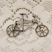 50% OFF~Vintage Sterling Hand Crafted Mechanical Bicycle Book!