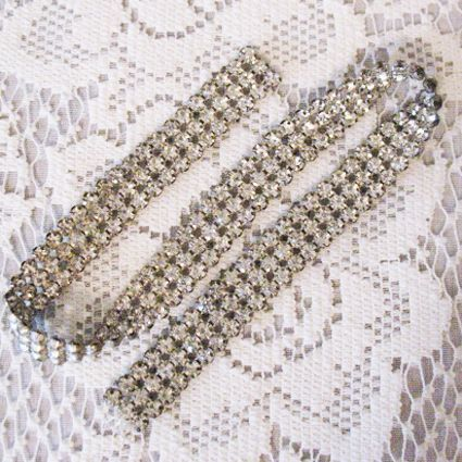 50% OFF~Wonderful Vintage Prong Set Rhinestone Appliqué
