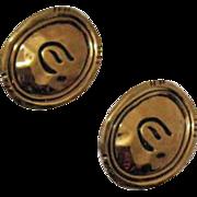 Vintage Signed Elizabeth Taylor Earrings~Unworn