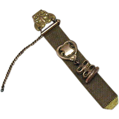 Stunning Antique Art Nouveau 14K Period Pocket 10K Watch Fob