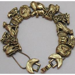 50% OFF Vintage Florenza Noah's Arc Slide Bracelet~Unsigned