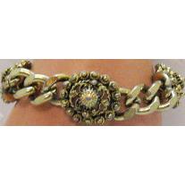 50% OFF Unique Etruscan Style Vintage Curb Style Chain Bracelet
