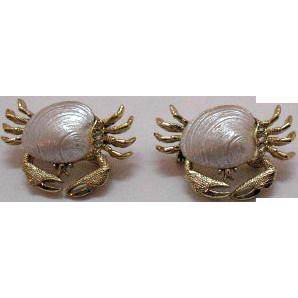 50% Off Darling Vintage Sand Crabs Scatter Pins Claim Shells