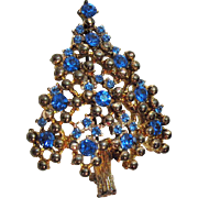 Vintage Eisenberg Christmas Tree Brooch