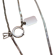 Hard to Find Sterling Silver Signed Anson Vintage Watch Fob