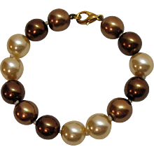 50% Off Gorgeous Vintage Honora Fresh Water Round Pearl Bracelet 8 Inches Long