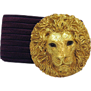 Vintage Charmant Belts Inc of Beverly Hills Lion's Head Belt