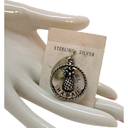 Unusual Vintage Maisel Indian Trading Post Sterling Silver Hawaii Charm