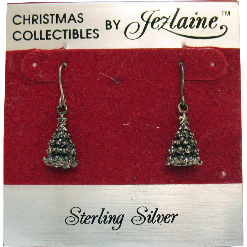 Vintage sterling silver christmas collectibles by jezlaine for Sterling silver christmas jewelry