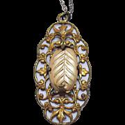 Fine Estate Antique 12K Gold Filled Art Nouveau Necklace