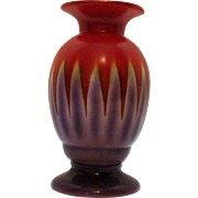 Vintage Porcelain Art Deco Czech Vase Good Condition