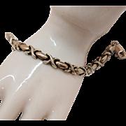 Vintage Italian Sterling Silver 925 Milor Italy Bracelet