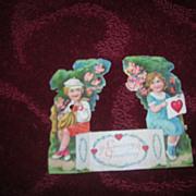 Vintage 1920's Early Germany Die Cut Valentine.