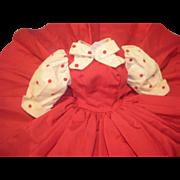 Vintage 1950's Alexander Tagged Cissy Dress!