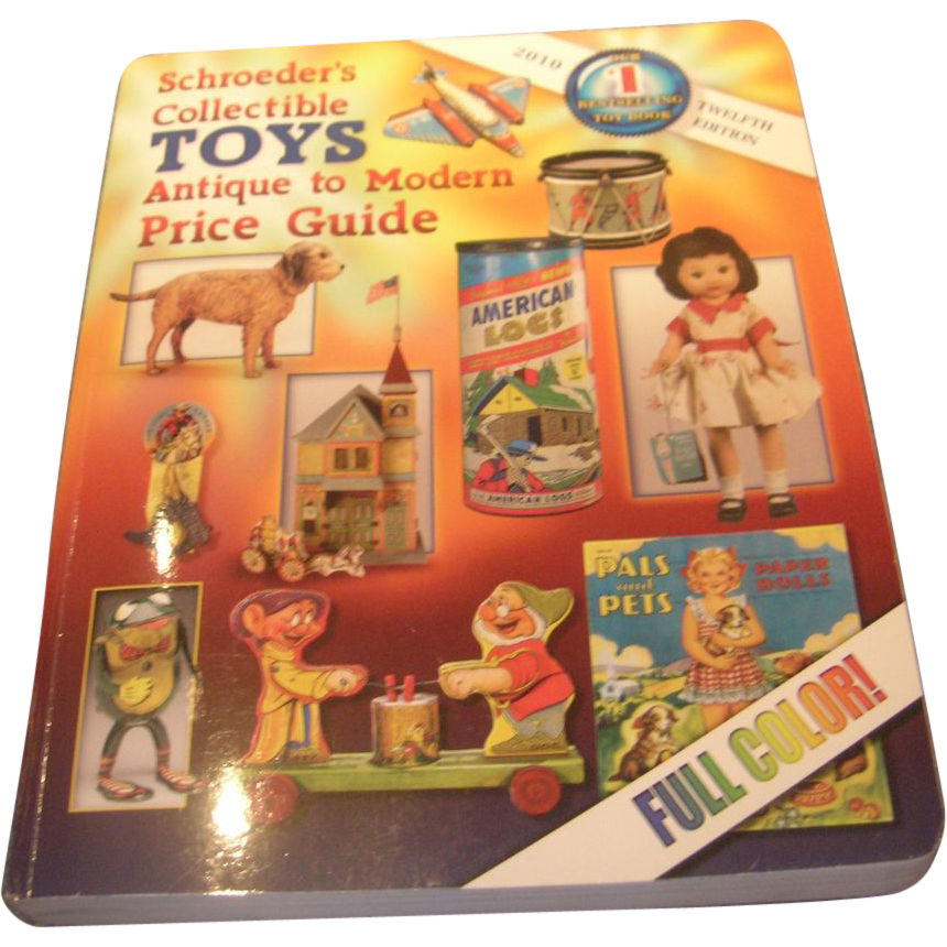 schroeder s collectible toys antique to modern price guide book sold rh rubylane com old antique books price guide Antique Book Values